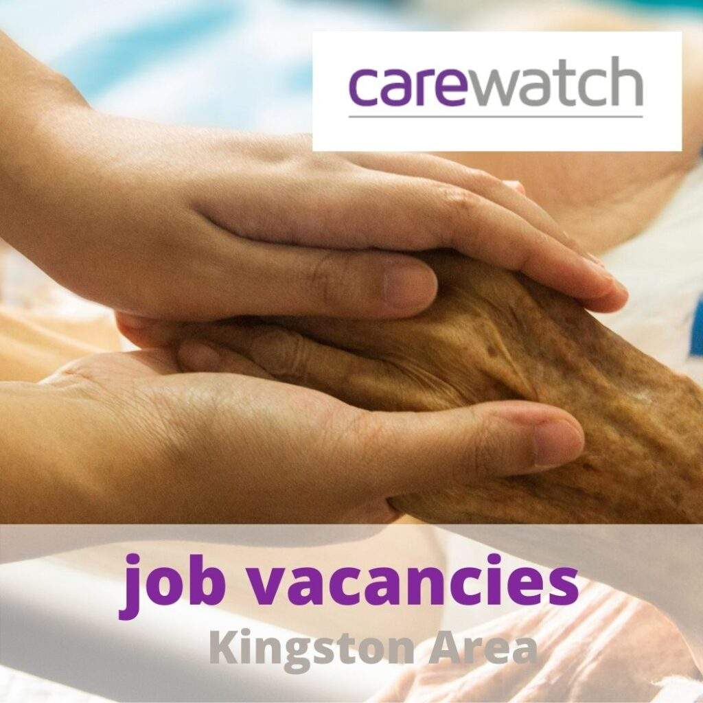 kingston Carewatch vacancy